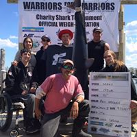 Warriors for Warriors shark tournament